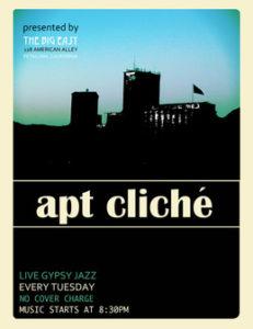 Live Gypsy Jazz tonight & every Tuesday!